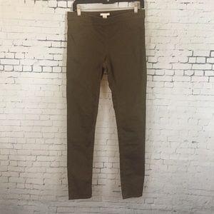 H&M Olive Pants Leggings size 10